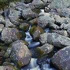 Stream in mountains by MKCn