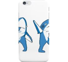 SuperBowl Sharks  iPhone Case/Skin