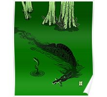 Swamp Dragon Poster