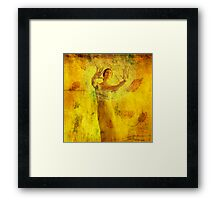 Visualize And Manifest Framed Print