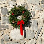 Christmas wreath by Albert1000