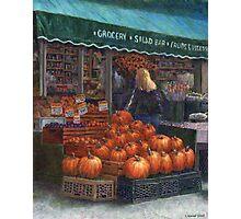 Pumpkins for Sale Photographic Print