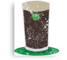 VINTAGE Pint of Guiness Canvas Print
