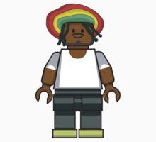 Lego Rastafarian by miners