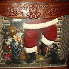 Santa Attacked (close-up) by mmdstudios