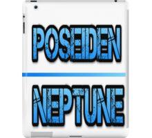 Poseiden & Neptune iPad Case/Skin