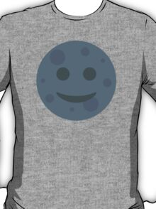 New Moon With Face Twitter Emoji T-Shirt