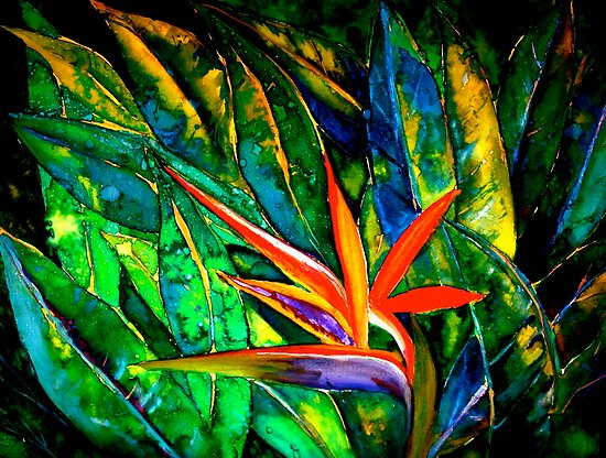 The Bird of Paradise by © Janis Zroback