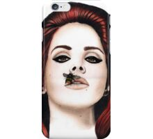 Lana Del Rey Pencil Drawing iPhone Case/Skin