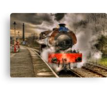 Steam Locomotive, East Lancs Railway Canvas Print