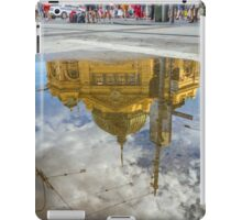 Chaos above - Peace below iPad Case/Skin