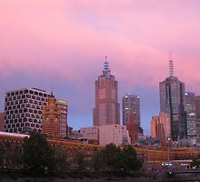 Melbourne @ Dusk by Catherine C.  Turner