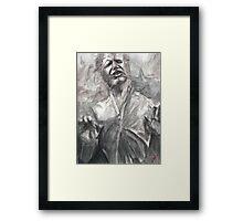 Han in Carbonite Framed Print