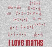 I love maths by peteroxcliffe