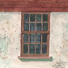 Cottage Window by JGFineArt