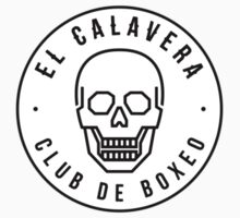 El Calavera Club de Boxeo - Sticker by JamesShannon