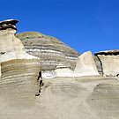 Hoodoos in the Badlands by George Cousins