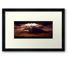 Hole In The Sky  © Framed Print