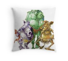 A Study in Troll Throw Pillow
