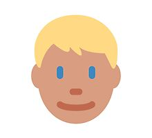 Person With Blond Hair Twitter Emoji by emoji
