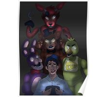 The King of Five Nights At Freddy's Poster