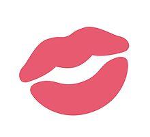Kiss Mark Twitter Emoji by emoji
