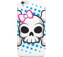 Girly Skull iPhone Case/Skin