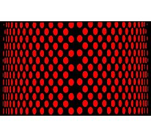 RED DOTS Photographic Print