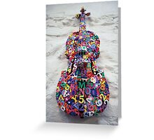 This is Not a Violin. Greeting Card