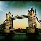 tower bridge by kathy archbold