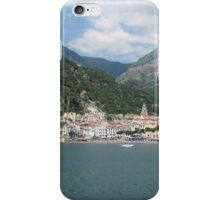 Scenic Town and Harbor of Amalfi, Italy iPhone Case/Skin