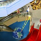 Surrealism Project: Escalators by Charles Cruz