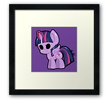 Twilight Chibi Framed Print