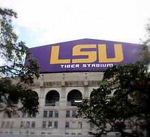 Tiger Stadium at Louisiana State University by Susan Zohn