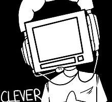 clever boy (white) by cascadefortune