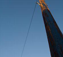 telephone pole 1 by go sugimoto
