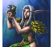 Night Elf Druid by MissAinley