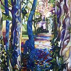 blue garden by elisabetta trevisan