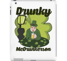 Drunky McDrunkerson iPad Case/Skin