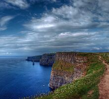 Cliffs of Moher  by Magi