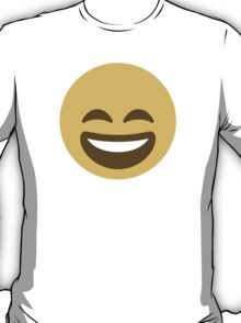 Smiling Face With Open Mouth And Smiling Eyes Twitter Emoji T-Shirt