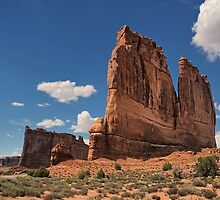Courthouse Towers by Bryan Peterson