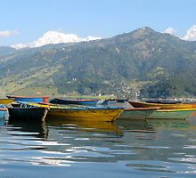 Lake Pokhara by Christine  Hood