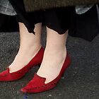 Red shoes by Jacqui by SacredHeart