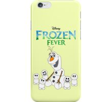 Olaf and his little buddies iPhone Case/Skin