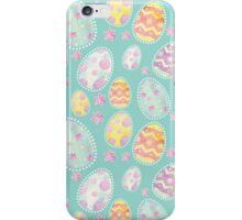 Pastel Watercolour Painted Easter Egg Pattern iPhone Case/Skin