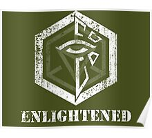 ENLIGHTENED - Ingress Poster