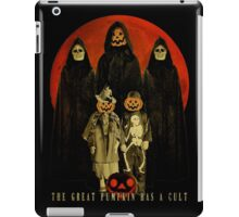 Cult of the Great Pumpkin: Trick or Treat iPad Case/Skin
