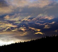 Sunrise in New Hampshires White Mtns by Josh Myers
