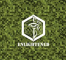 ENLIGHTENED Digital Camouflage - Ingress by trebory6